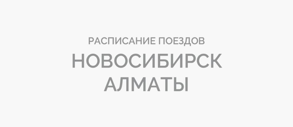 Поезд Новосибирск - Алматы