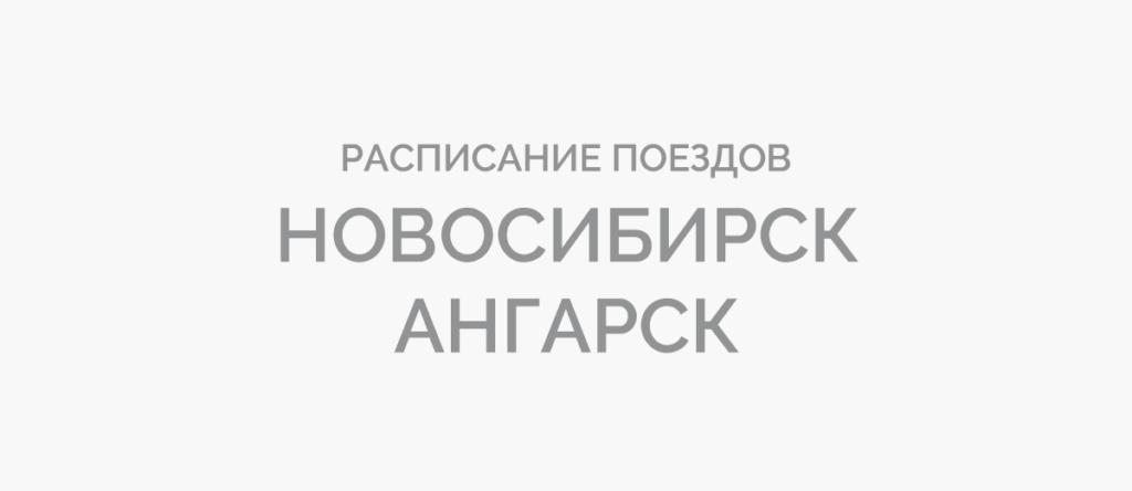 Поезд Новосибирск - Ангарск