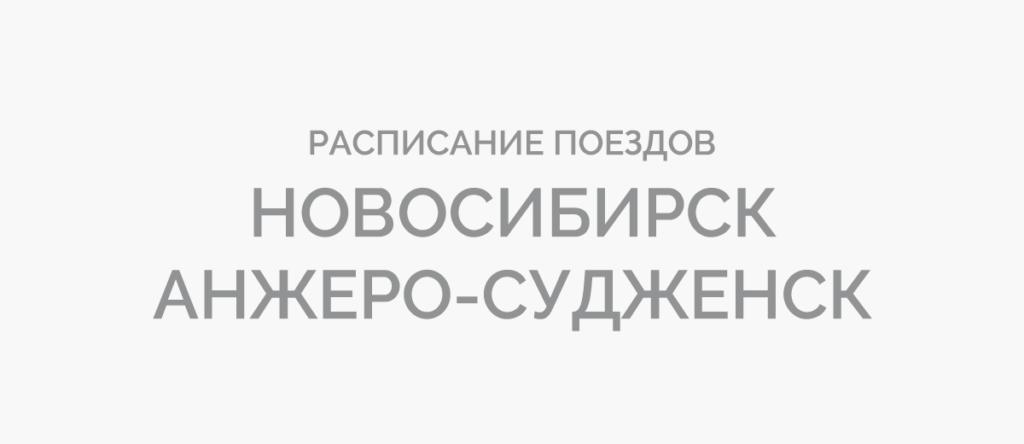 Поезд Новосибирск - Анжеро-Судженск