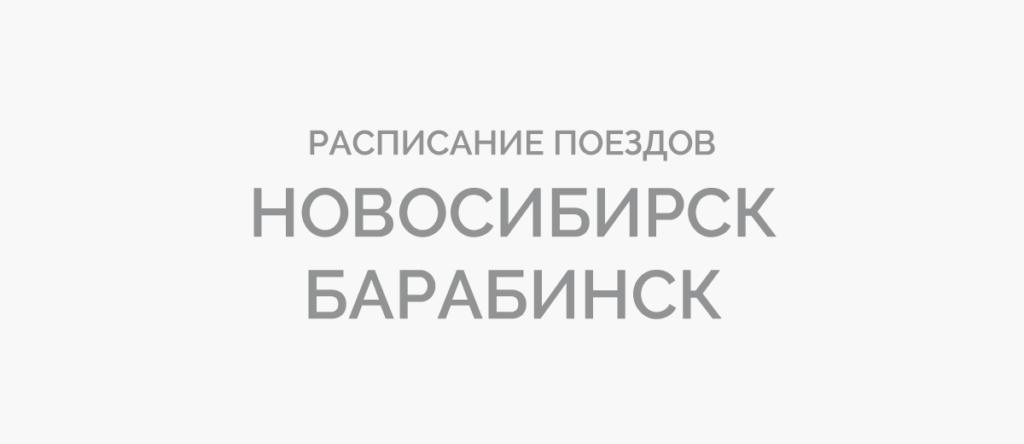 Поезд Новосибирск - Барабинск