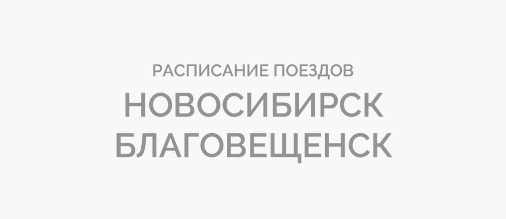 Поезд Новосибирск - Благовещенск