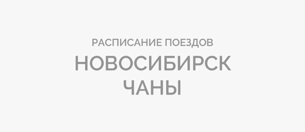 Поезд Новосибирск - Чаны