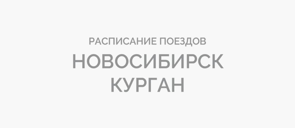Поезд Новосибирск - Курган