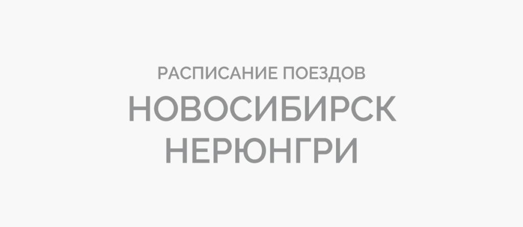 Поезд Новосибирск - Нерюнгри