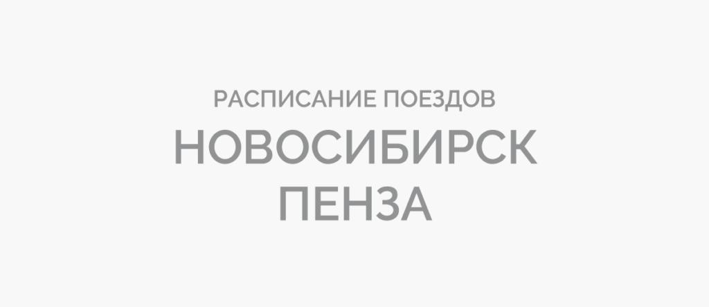 Поезд Новосибирск - Пенза