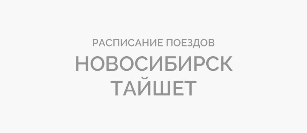 Поезд Новосибирск - Тайшет