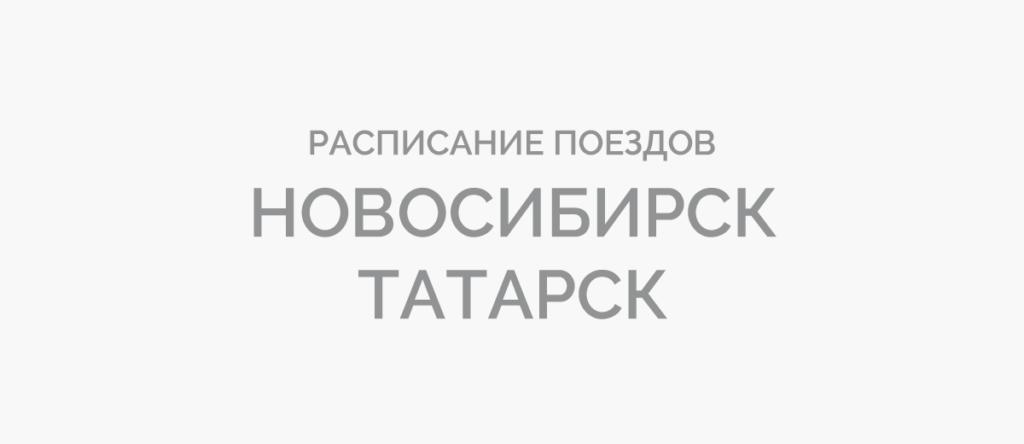 Поезд Новосибирск - Татарск