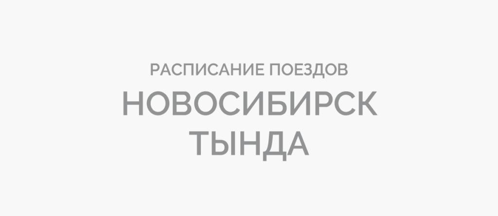 Поезд Новосибирск - Тында