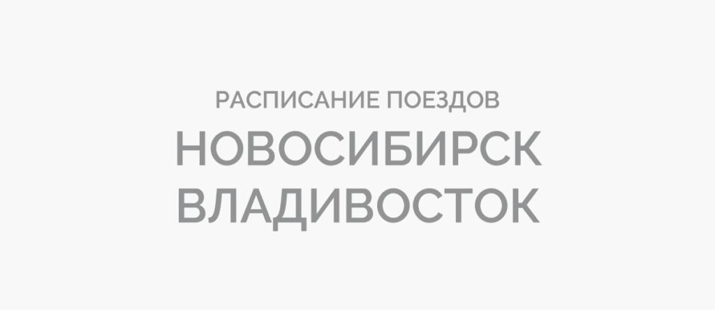 Поезд Новосибирск - Владивосток