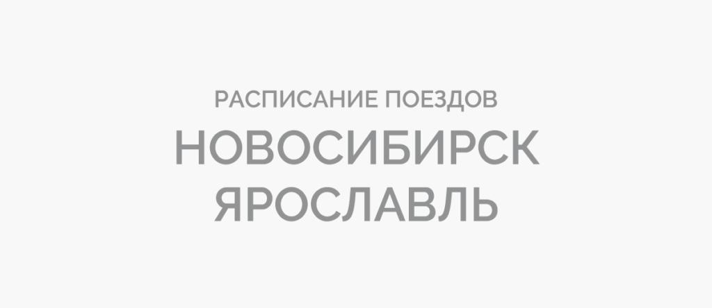 Поезд Новосибирск - Ярославль