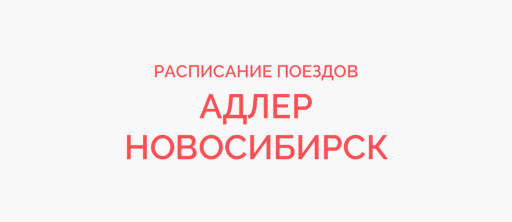 Поезд Адлер - Новосибирск