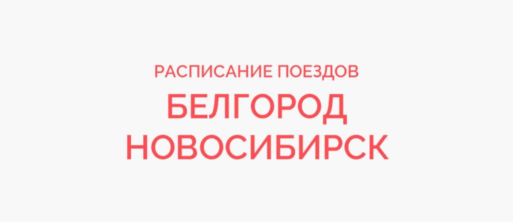 Поезд Белгород - Новосибирск