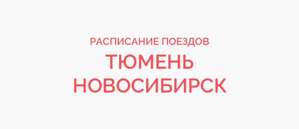Поезд Тюмень - Новосибирск